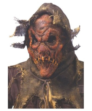 Scarecrow Mask - Adult Mask - Red