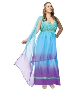 sea queen plus size women costume
