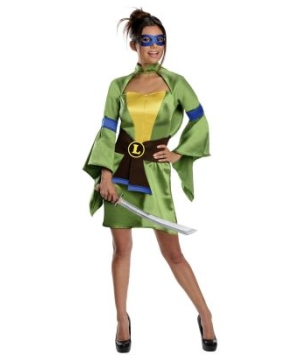 Ninja Turtles Sexy Leonardo Women Costume