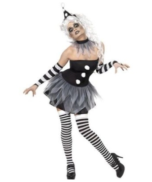 Sinister Pierrot Adult Costume