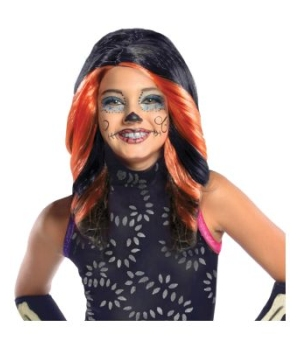 Skelita Calaveras Monster High Kids Wig