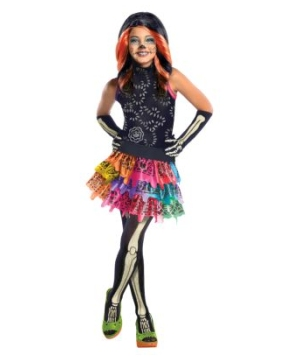 Skelita Calaveras Monster High Kids Costume