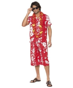 Hawaiian Hunk Adult Costume