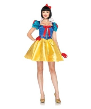 Sassy Snow White Womens Costume deluxe
