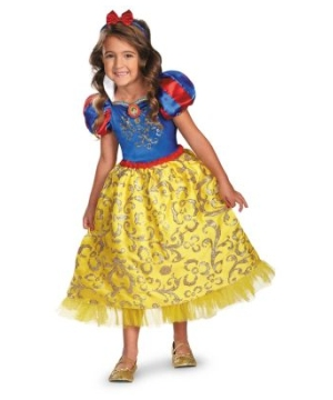 Snow White Sparkle Kids Disney Costume deluxe