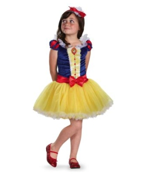 Snow White Tutu Disney Girls Costume Prestige