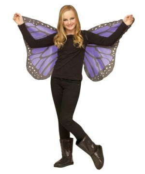 Soft Butterfly (orchid) Kids Wings