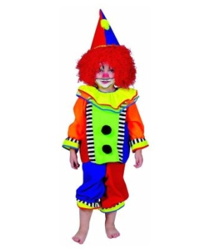 Spanky Stripes Clown Baby Costume