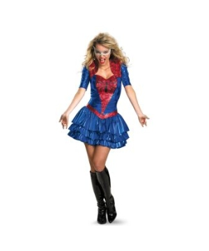 Spider Girl Sexy Adult plus Costume deluxe