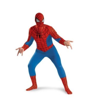 Spider Man Adult plus Costume deluxe