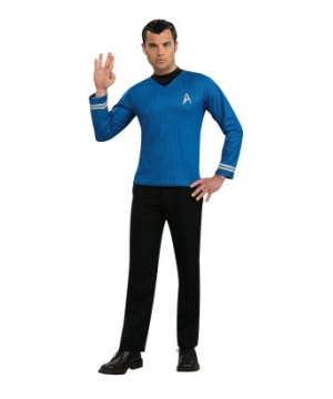 Star Trek Movie Blue Shirt Adult Costume