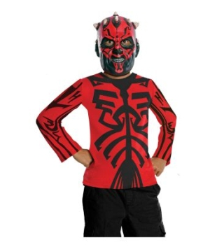 Star Wars Darth Maul Kids Costume Kit