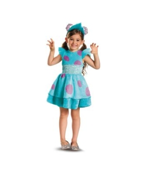 Monster University Sulley Toddler/girls Costume deluxe