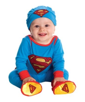 Superman Movie Baby Costume