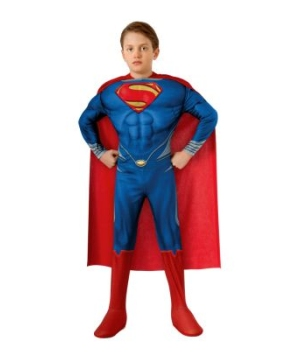 Superman Muscle Movie Boys Costume