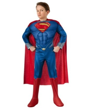 Superman Man of Steel Light up Muscle Chest Boys Costume deluxe