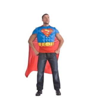 Superman Muscle Chest Kit Adult Costume