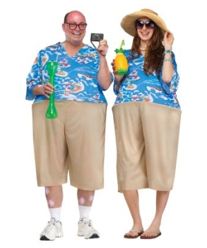 Tacky Tourist Suit Adult Costume