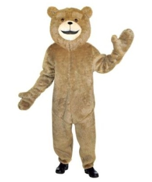 Ted Mascot Adult Costume