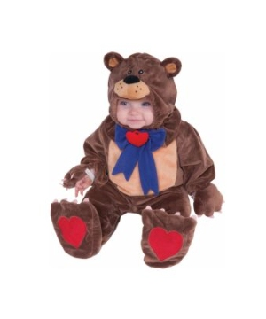 Teddy Bear Baby Costume deluxe