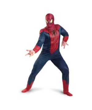 The Amazing Spider Man Men plus size Costume