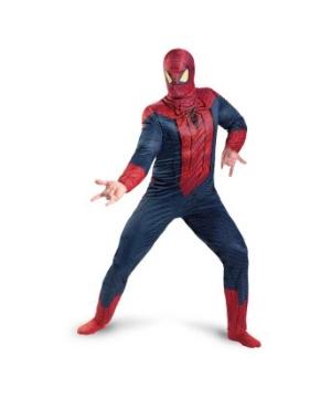 The Amazing Spider Man Men plus size Costume