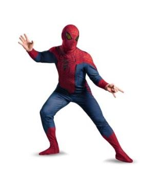 The Amazing Spider Man Movie Men plus Costume deluxe