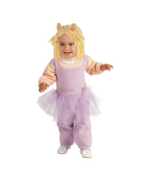The Muppets Miss Piggy Baby Costume