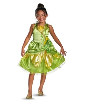 Tiana Sparkle Disney Girls Costume