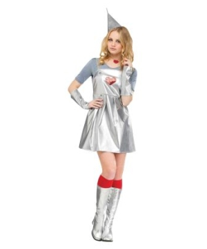 Tin Gal Womens Costume
