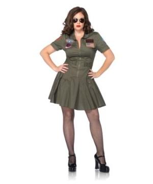 Top Gun Women plus size Costume