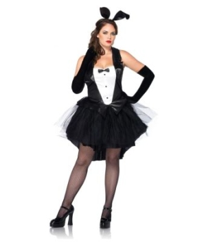 Tux and Tails Bunny Adult plus size Costume