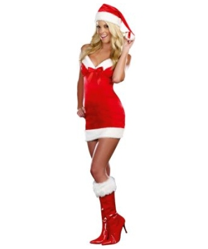 Under the Mistletoe Womens Costume