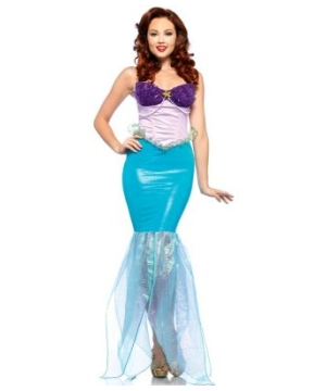 ariel women disney costume