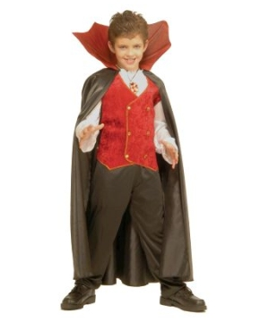 Vampire Kids Boys Costume