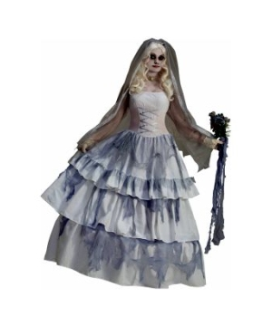 Beautiful Ghost Bride Women's Costume
