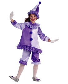 Violet The Clown Kids Costume