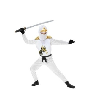White Ninja Avengers Series Ii Toddler/kids Costume