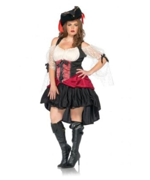 Wicked Wench Peasant Dress Adult plus size Costume