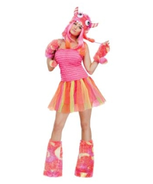 Wild Monster Women Costume