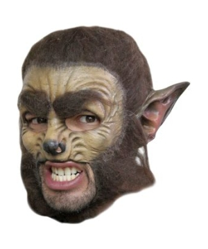 Wolf Chinless Adult Mask