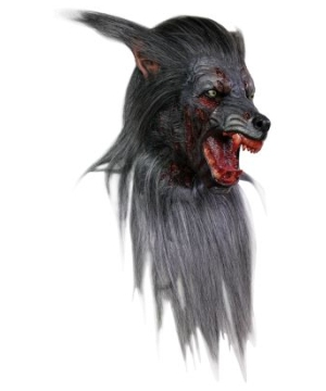 Wolf Latex Adult Mask