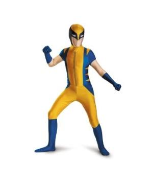 Wolverine Bodysuit Boys/ Teen Costume deluxe