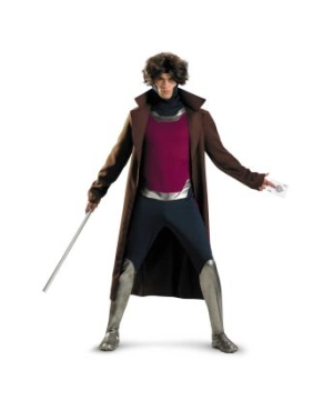 X-men Gambit Adult plus Costume