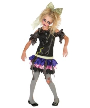Zombie Doll Kids Costume