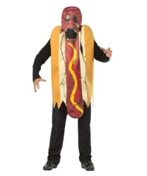 Zombie Hot Dog Mens Costume