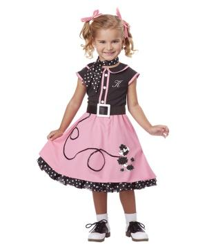 50s Poodle Cutie Girls Costume