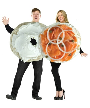 Bagel and Lox Couples Costume