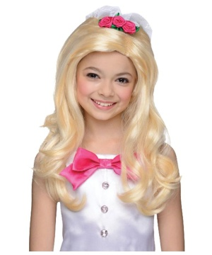Barbie Bridal Girls Wig