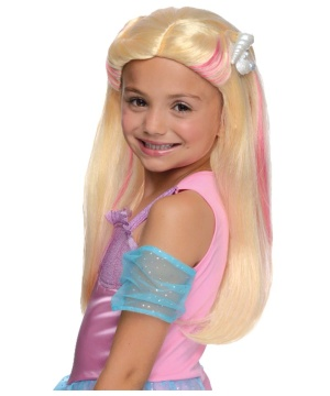 Barbie Mermaid Girls Wig